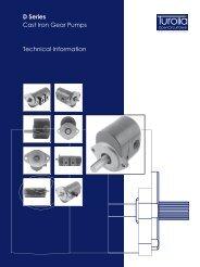 D Series Cast Iron Gear Pumps Technical Information - Total ...