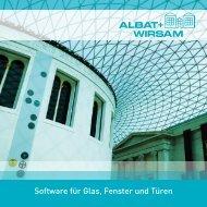 Software für Glas, Fenster und Türen - Glaston
