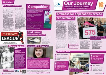 Edition 20 - December 2011 - Coventry 2012