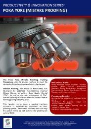 poka yoke (mistake proofing) - Singapore Manufacturing Federation