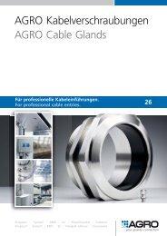 AGRO Kabelverschraubungen AGRO Cable Glands - Helia