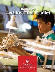 Architectural Studies - Carleton University