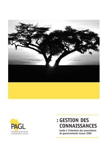 GESTION DES CONNAISSANCES :
