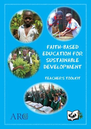 faith-based education for sustainable development - Alliance of ...