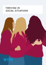 Thriving in Social Situations Youth sessions - YWCA Wellington