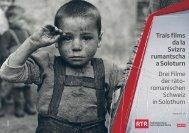 Trais films da la Svizra rumantscha a Soloturn - Radiotelevisiun ...