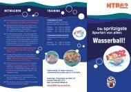 HTB62 Wasserball