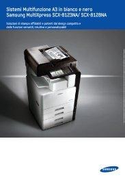 Sistemi Multifunzione A3 in bianco e nero Samsung ... - Copisistem