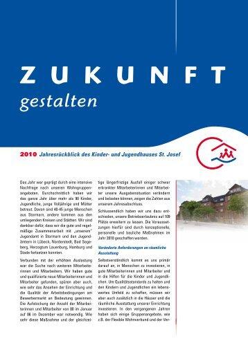 Jahresbericht 2010 - Kinder- und Jugendhaus St. Josef