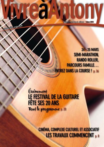 20 à la une n°266 - Mars 2012 - Ville d'Antony