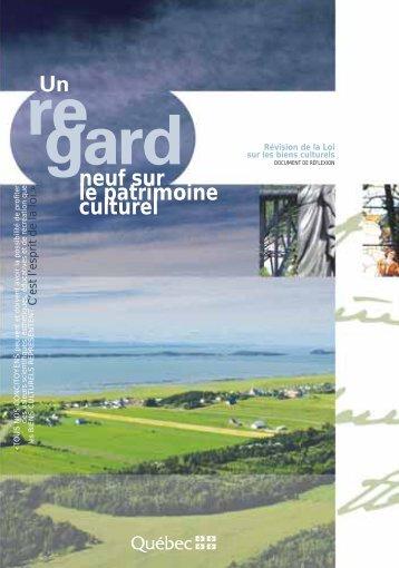 Un regard neuf sur le patrimoine culturel - île d'Orléans