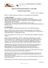 Referat fra generalforsamlingen 4. april 2008 (pdf) - Fagforum for ...