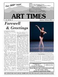 January/ February 2013 - Art Times