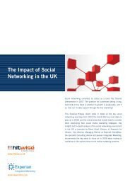The Impact of Social Networking in the UK - Marketing in ...
