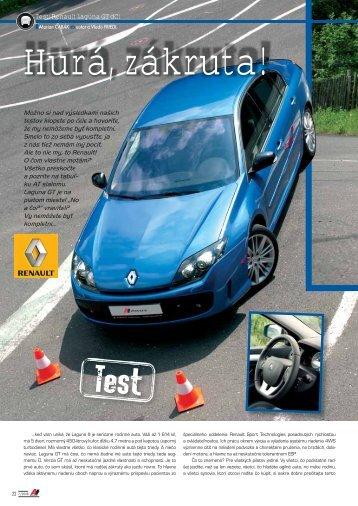 Test: Renault Laguna GT dCi - AutoTuning.sk