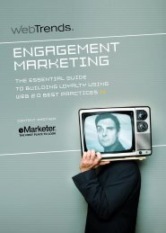 enGaGeMenT MarkeTinG - Marketing in Communitys und Social ...