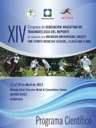 Symposium - Asociación Argentina de Traumatología del Deporte