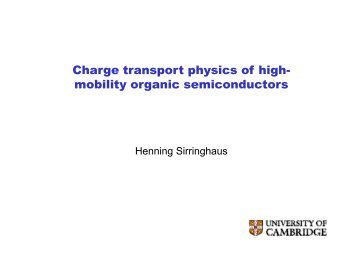 Device physics and applications of organic field-effect transistors
