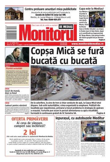 OFERTA PRIMĂVERII - Monitorul de Cluj