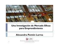 Una Investigación de Mercado Eficaz para ... - My Laureate