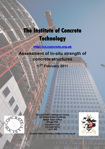 The Institute of Concrete Technology - British Precast