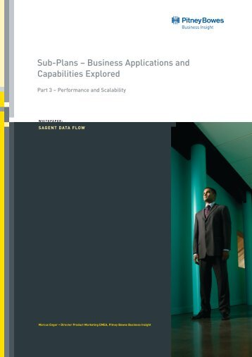 Business Applications and Capabilities Explored - Pitney Bowes ...