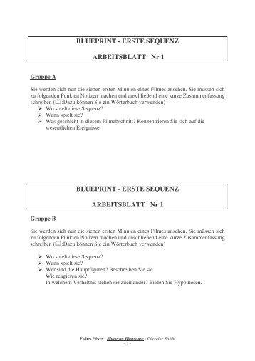 Charlotte kerner blueprint blaupause lezen voor de lijst blueprint acadmie de strasbourg malvernweather Images