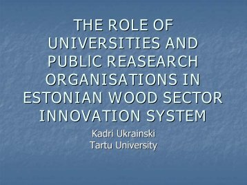 impact of technology on skill demand in estonian wood industries