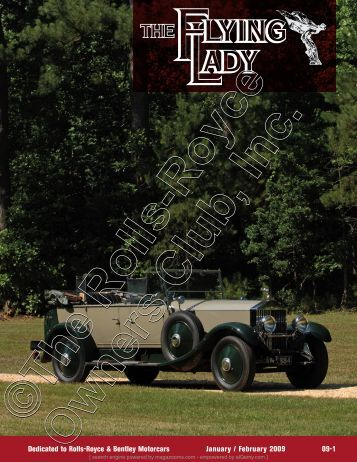 Dedicated to Rolls-Royce & Bentley Motorcars ... - Magazooms