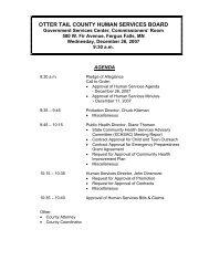 Agenda 12/26/2007 - Otter Tail County