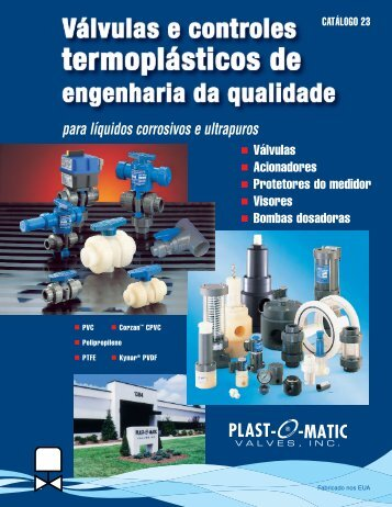 Catalog 23_PTB.qxp - Plast-O-Matic Valves, Inc