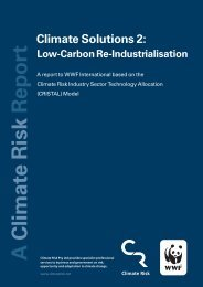 Climate Solutions 2: Low-Carbon Re-Industrialisation - WWF Blogs