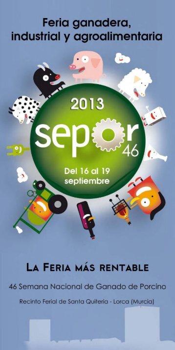 Feria ganadero, industrial y agroalimentario - Sepor Lorca