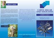 CAROL MILLAR AND ASSOCIATES - Plusto.com