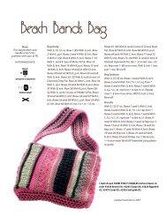 Beach Bands Bag - Knitting Universe