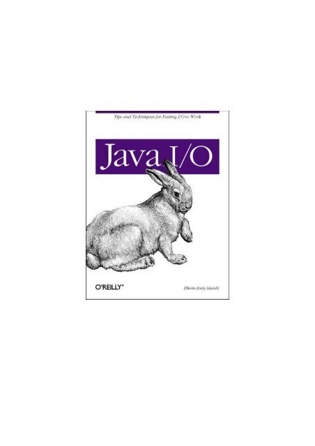 O'Reilly - Java IO pdf