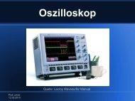 Oszilloskop - Projektlabor