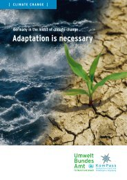 Adaptation is necessary - ICCIP the International Climate Change ...
