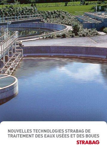 nouvelles technologies strabag de traitement des eaux ... - Strabag AG