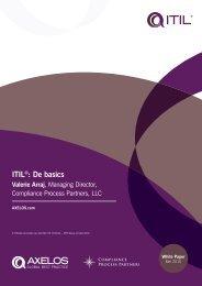 ITIL - Best Management Practice