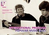 Download International Program as pdf file - Hochschule für Kunst ...