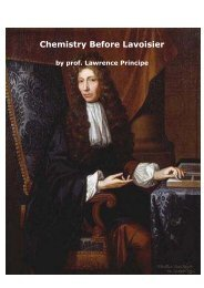 Course: History of Early Modern Chemistry - KNCV