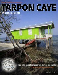 TARPON CAYE Placencia, Belize - Tailwaters Fly Fishing Co.