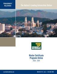 Master Certificate Programs Online - National Technical Information ...
