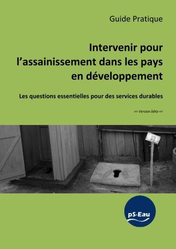 Intervenir pour l'assainissement dans les pays en développement