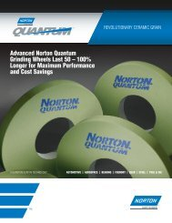 Quantum Grinding Wheel Flyer 8059.qxd - Norton