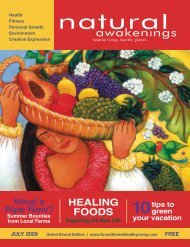 HEALING FOODS - Grand Strand Natural Awakenings