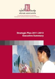 Strategic Plan 2011-2013 Executive Summary - Welfare - Welfare ...