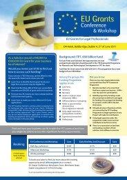 EU Grants - The Procurement Lawyer's Association