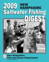 Saltwater Fishing Digest - New Hampshire Fish and Game Department